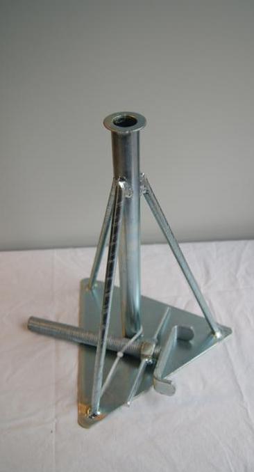 251 - Assteun metaal model LAAG