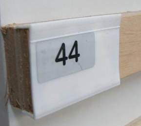 Raamband 44 mm - per meter