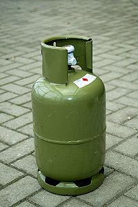 Gasfles Duits din 5 kg