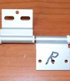 612 - Deurscharnier RECHTS aluminium Ellbee