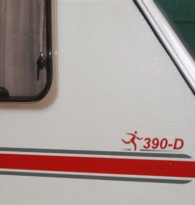 Stickers t.b.v. caravan