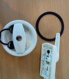 4751-  Deurslot wit met 2cm pin