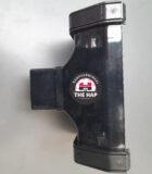 20641 - Dakgoot regenpijp connector - Zwart